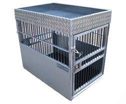 stainless steel dog crates